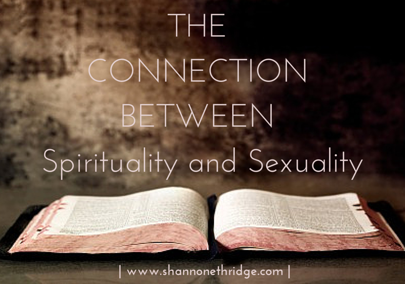 Connection between spirituality and sexuality