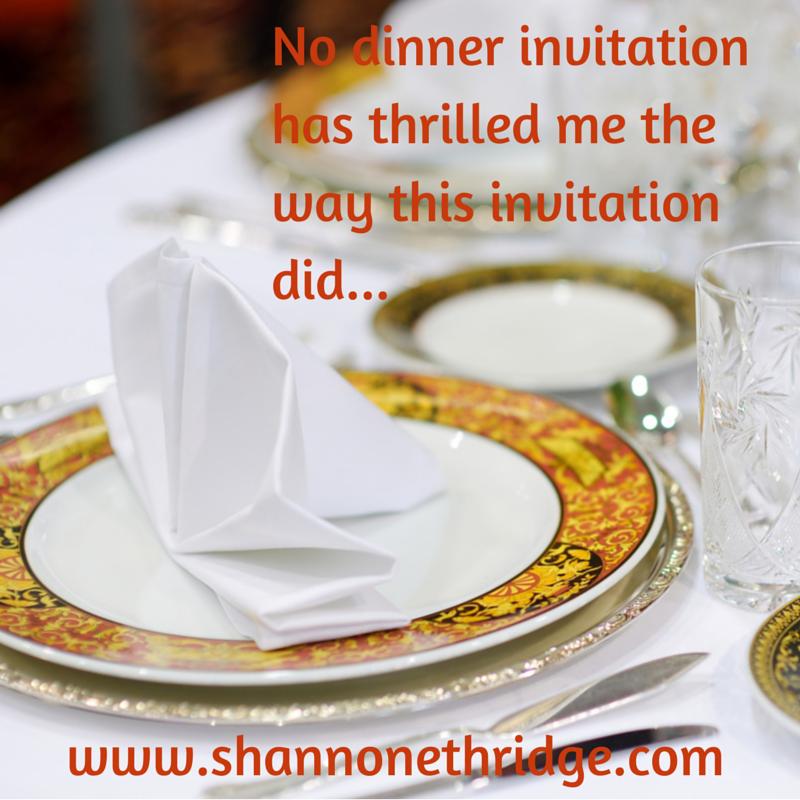 Dining with Deity