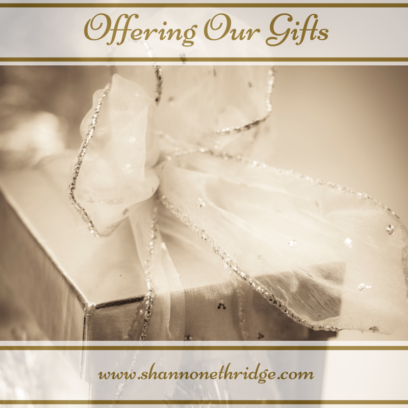 Offering Our Gifts