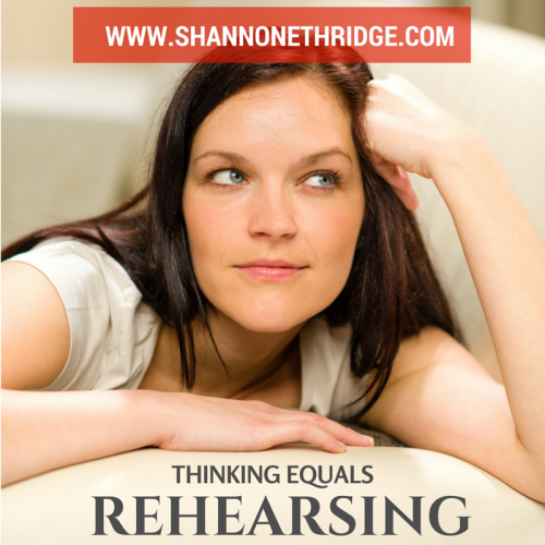 Thinking Equals Rehearsing