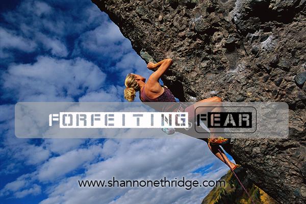 Woman Rock Climbing ca. 2000