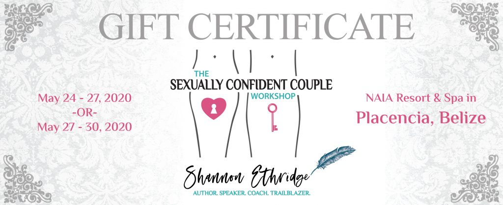 Sexually Confident Couple Gift Certificate